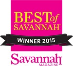 2015 Best of Savannah winner - Inn/Bed and Breakfast
