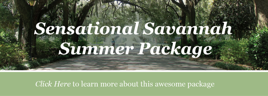 Savannah Summer Package