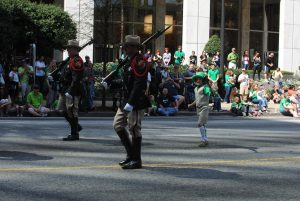 St Patrick's Day in Savannah