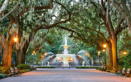 forsyth park is one of the best things to do in Savannah, Georgia