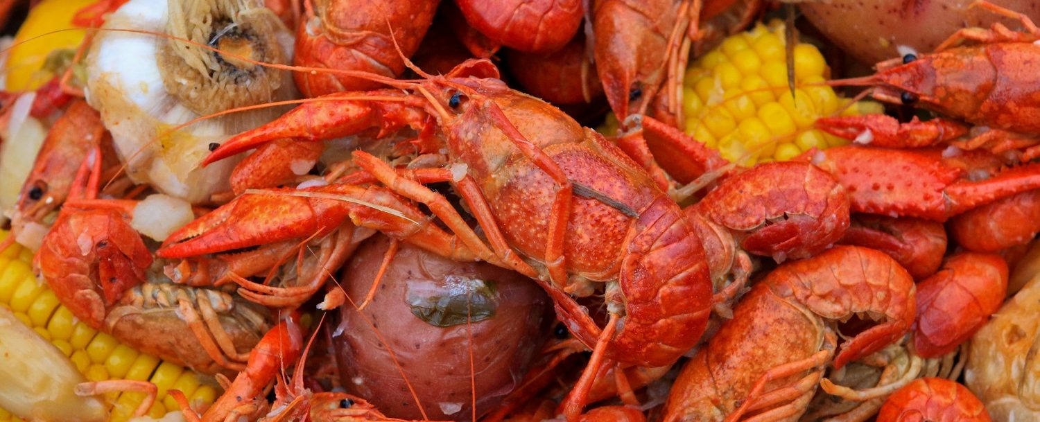 Crab boil at the Savannah Seafood Festival