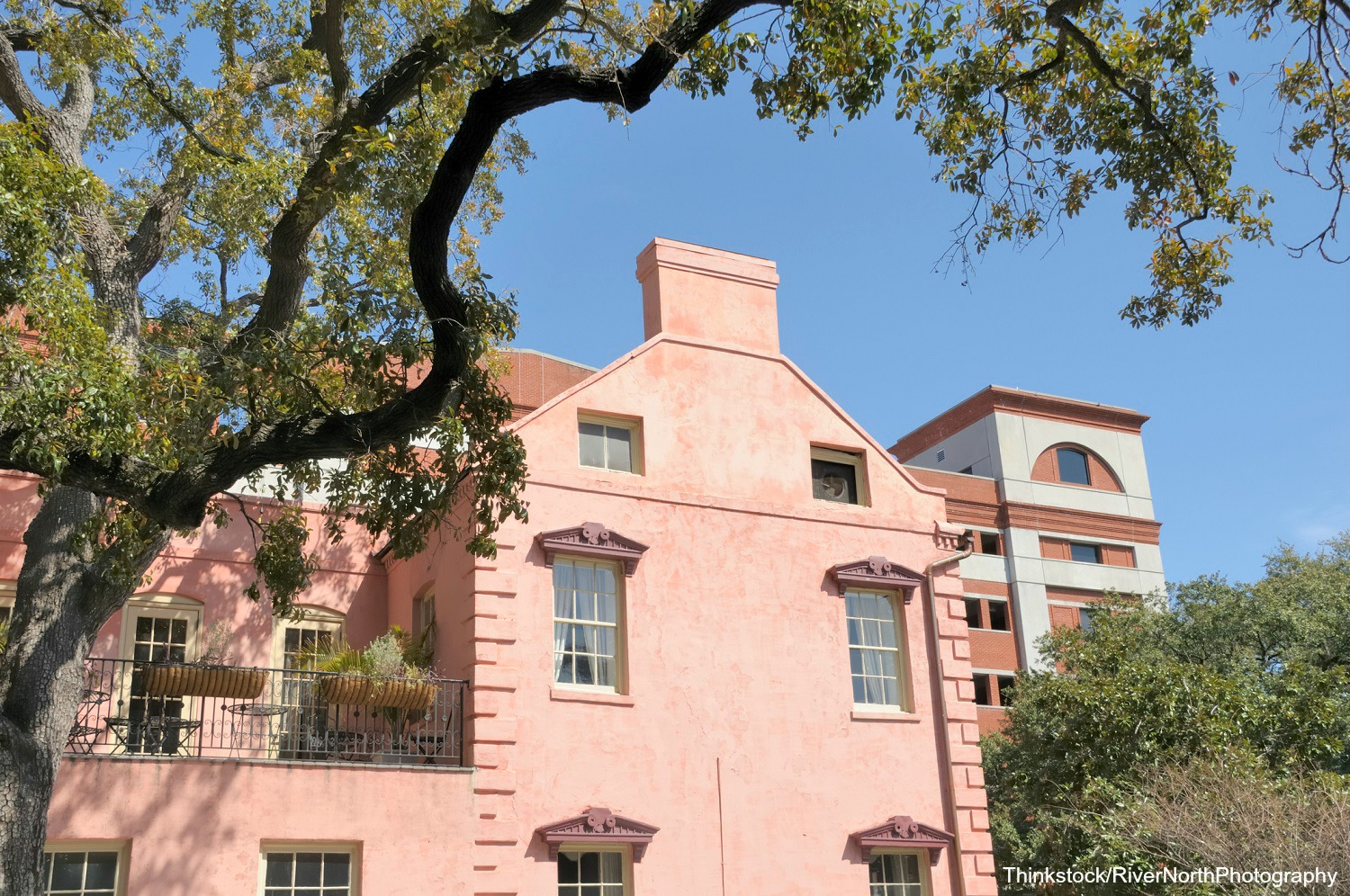 Stop by the Olde Pink House in Savannah, GA, for dinner.