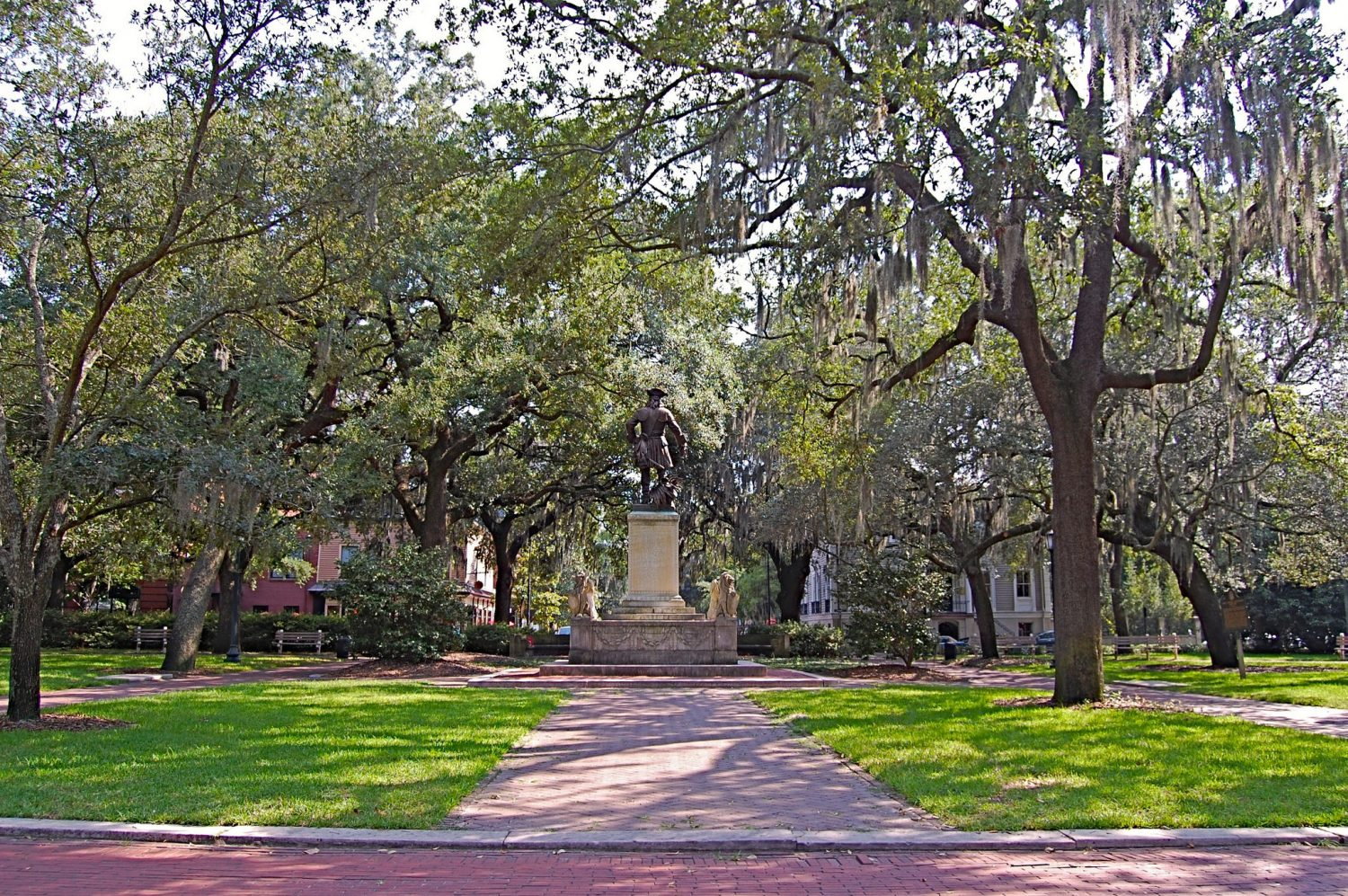Everything You Need to Know About Chippewa Square in Savannah, Georgia